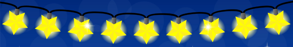 Hier sehen Sie eine schöne Lichterkette für den Aussenbereich.