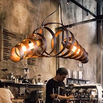 Pendelleuchte Retro Bar Eisen Lampe Modernen Minimalistischen Industriellen  Stil Kronleuchter
