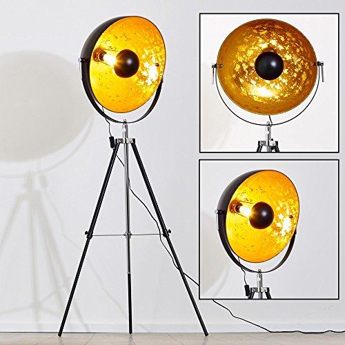 ᐅ Stehlampe Saturn XXL Farbe gold und schwarz ...